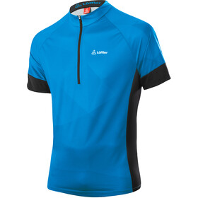 Löffler Rocks Half-Zip Bike Shirt Men, azul